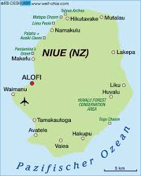 niue on world map map of niue new zealand map in the atlas of the world world
