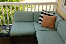 Recover Patio Cushions Ugly Patio Cushions Revamped With Paint Painting Fabric Furniture