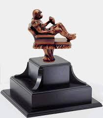 Armchair Quarterback Trophy Gameball Trophies Inc Fantasy Football Trophies Plaques Medals