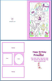 birthday card format for word birthday card template word