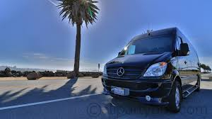 fan van party bus 1 to 12 person mercedes sprinter cali party bus