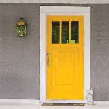 personalize your front door with paint colors yellow front doors