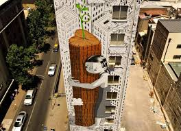 Mural Artist by This Massive 11 Story Mural In Chile Celebrates Treehuggers
