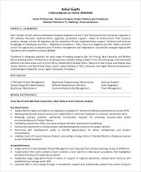 Best Business Analyst Resumes by 10 Business Analyst Cv Templates Free Samples Examples Format