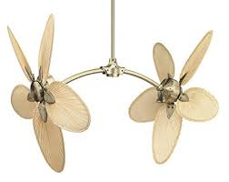fanimation caruso ceiling fan fanimation caisp4 caruso blade narrow oval palm 22 inch natural