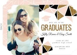 joint graduation invitations graduation announcements