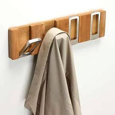 hooks and hangers cool wall mounted pine wood 6 hooks hat rack