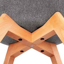 retro replica eames eiffel chairs x 2 chairs