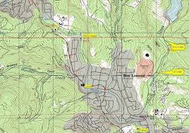 Henry Cowell State Park Map by California Creeks San Lorenzo River Upper