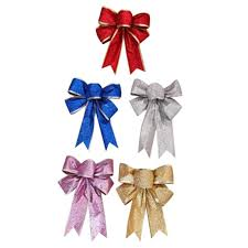 Decorate Christmas Tree Ribbons Bows by Popular Christmas Tree Ribbon Decorations Glitterred Buy Cheap