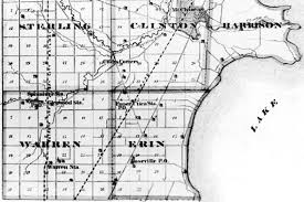 Oakland County Michigan Map by Map 1875 Macomb County Red Run