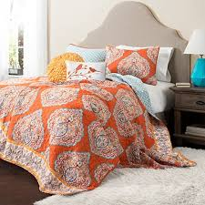 Orange And White Comforter Bedding Comforter Sets Kirklands