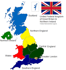 Map Of Wales And England by Sam U0027s Flags September 2014