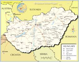 Map Central Europe by Map Of Hungary Favorite Places And Spaces Pinterest Budapest