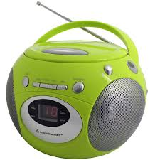 cd player kinderzimmer grüner design kinder radiorecorder cd player boombox ebay