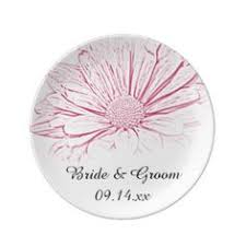 bridal shower plate hot pink dinner plate bridal shower plates