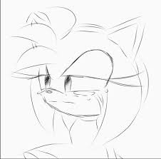 2015 crying meme amy rose gif by yoi firewitch on deviantart