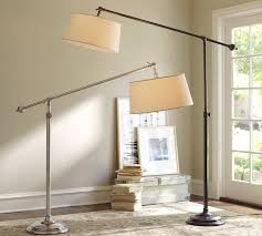 Library Table Lamps Chelsea Sectional Floor Lamp Pottery Barn
