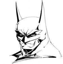how to draw batman in 12 steps clip art library
