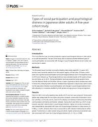 med si e social loneliness and depression in the elderly the of social