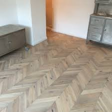 engineered oak parquet flooring chevron 18mm lucerne whitewash