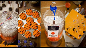 basketball party table decorations awesome basketball themes party decorations ideas youtube