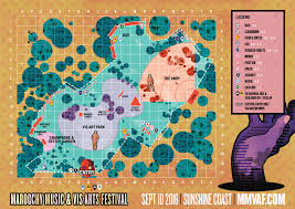 Festival Map Maroochy Festival 2016 Has Your Back With Maps And Timetables