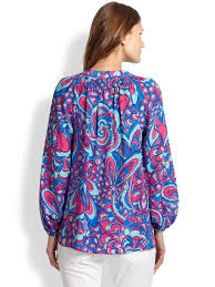 100 swell lilly pulitzer tropical in a palm print lilly