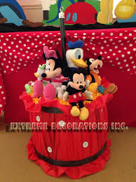 mickey mouse clubhouse centerpieces party decorations miami balloon sculptures