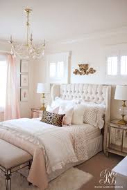 White Bedroom With Purple Accents White And Gold Bedroom Decor Walls Black Accessories Room