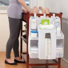 Changing Table Caddy Baby Crib Changing Table Hanging Baby Supplies Organizer