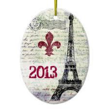 eiffel tower ornaments keepsake ornaments zazzle