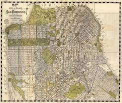 San Francisco Maps by File 1932 Candrain Map Of San Francisco California Geographicus