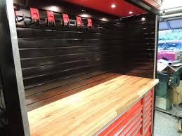 Tool Box Top Hutch Dukers Workbench Build The Garage Journal Board