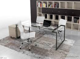 bureaux en verre bureau verre bureau direction mobilier de bureau