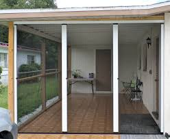 Screen Kits For Porch by Turn You Unused Carport Into An Extra Outdoor Room With A