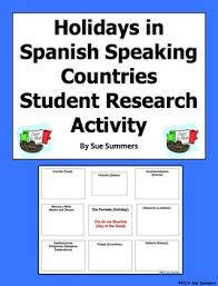 speaking countries holidays and festivals student research