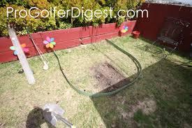 how to make a diy backyard putting green progolferdigest