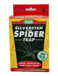 victor poison free springstar s206 silverfish and spider trap insect