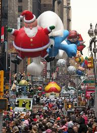 macy s thanksgiving day parade 2010 editorial image image of city