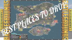 pubg map loot pubg loot map explanation where when to drop youtube