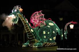 electric light parade disney world best places to watch a parade in magic kingdom