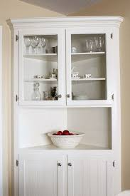 corner kitchen hutch cabinet white kitchen hutch cabinet image decor trends hbe 25 best painted