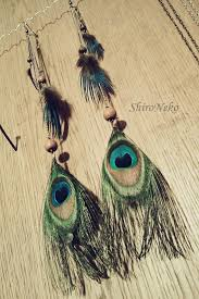 peacock feather earrings peacock feather earrings by shirnek0 on deviantart
