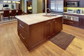 kitchen island detail new custom homes globex developments
