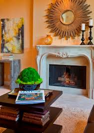 How To Decorate A Traditional Home Fireplace Fireplace Mantel Decor Decorating Ideas For Mantels