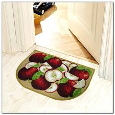 Apple Kitchen Rugs Apple Rugs For Kitchen Rug Sets Best 3 Shaped Moute