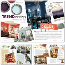 interior design magazine layout google search magazine