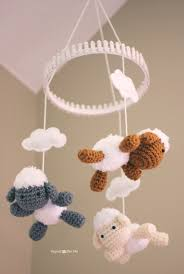 crochet lamb pattern and baby mobile repeat crafter me