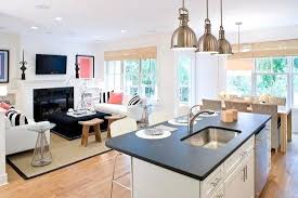 living room kitchen ideas charming small open plan kitchen ideas small open plan kitchen